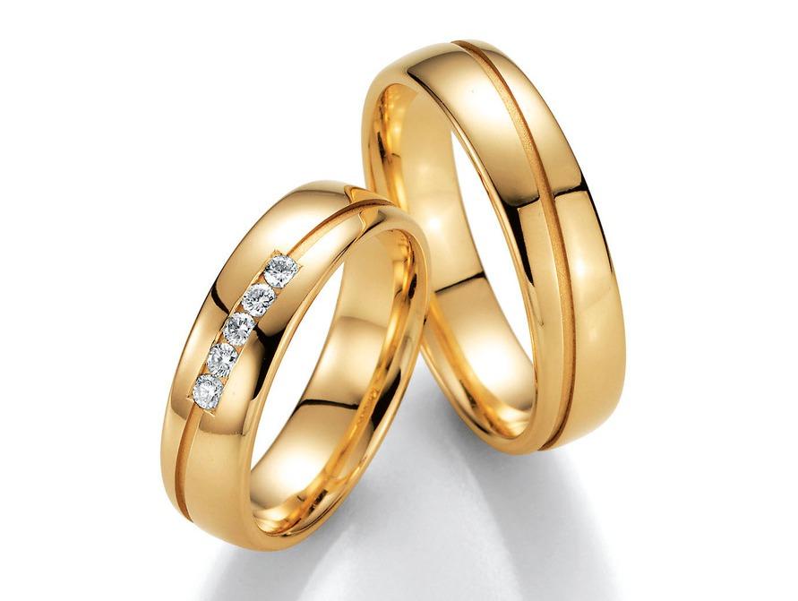 Eheringe gold mit 5 diamanten  individuelle Trauringe in Dresden zu Top Preisen und bester Beratung